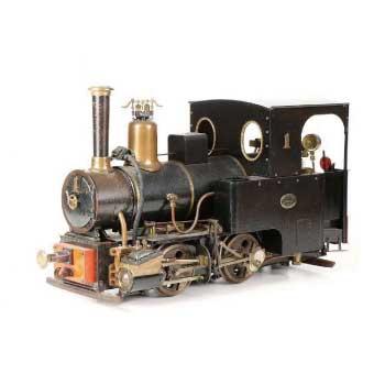 小川精機 ライブスチーム 蒸気機関車 鉄道模型 画像