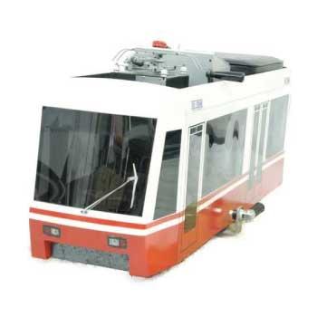 小川精機 5インチゲージ バッテリー 列車 OS-TRAM 鉄道模型 画像