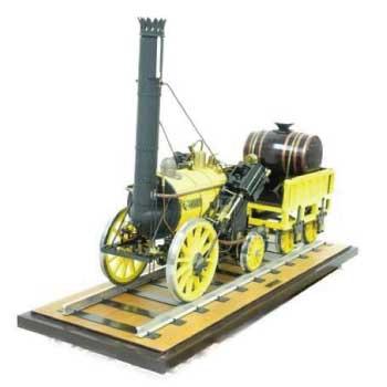 ライブスチーム 5インチゲージ 蒸気機関車 ロケット ROCKET 画像