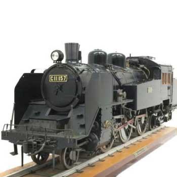 O.S. ライブスチーム C11 蒸気機関車 3.5インチ ゲージ 庭園鉄道 画像