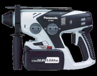 パナソニック(Panasonic) 充電式ハンマードリル EZ7880LP2S-B 28.8V 3.0Ah 美品 画像