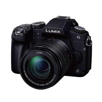 G8 標準ズームレンズキット 1600万画素 ブラック DMC-G8M-K 画像