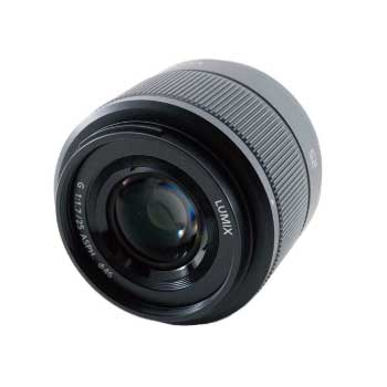 LUMIX G 25mm F1.7 ASPH H-H025 ミラーレス マイクロフォーサーズ 焦点レンズ 画像