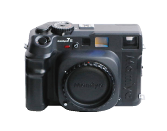 Mamiya 7Ⅱ ブラックボディ N65mm F4L/N80mm NPCポラホルダー付き 美品 画像