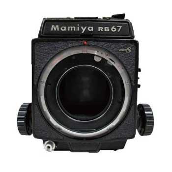 マミヤ RB67 Professional Pro S SEKOR C 1:4.5 f=180mm インスタントホルダー 画像