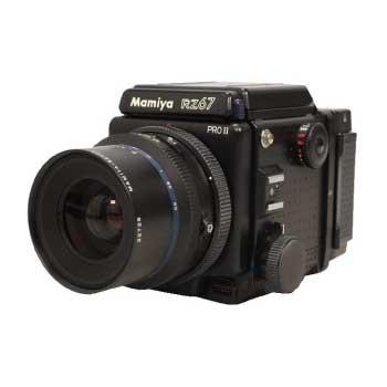 MAMIYA RZ67 プロフェッショナルⅡ MAMIYA-SEKOR Z 90mm F3.5W ポラ付 画像