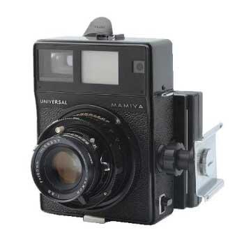 マミヤ UNIVERSAL PRESS MAMIYA‐SEKOR 100mm F3.5 フィルムカメラ 中判 画像