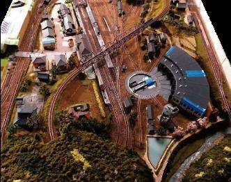 鉄道模型(Nゲージ) ジオラマ特大画像