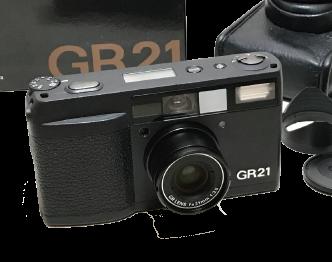 リコー(RICOH) GR21 元箱/ケース/取扱説明書付き 中古品 画像