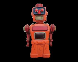 アオシン ブリキ トレメンディスマイク ロボット画像