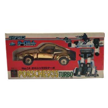タカラ ダイアクロン カーロボット ポルシェ 935 画像