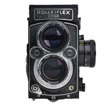 ローライフレックス 2.8GX 二眼レフカメラ画像