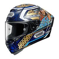 SHOEI X-Fourteen MARQUEZ MOTEGI3 マルケス モテギ フルフェイスヘルメット画像
