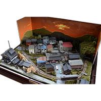 鉄道模型 週刊 昭和の「鉄道模型」をつくる 完成ジオラマ画像