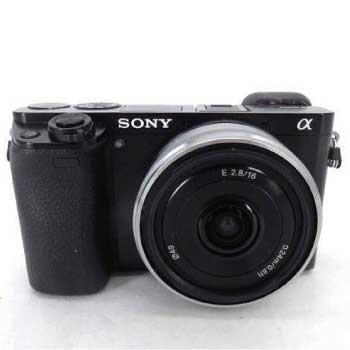 α6000 レンズ付き デジタル カメラ画像