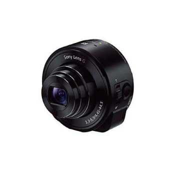 サイバーショット レンズスタイルカメラ QX10 DSC-QX10 ブラック 画像