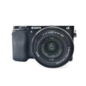 α6000 パワーズームレンズキット ブラック ILCE-6000L(B) 画像