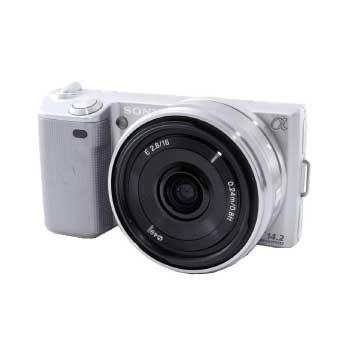 SONY ミラーレスデジタル一眼レフカメラ NEX-5D 16mm f2.8 画像