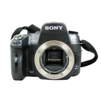 SONY α550 ボディ DSLR-A550 画像