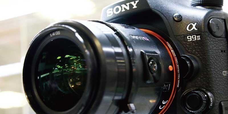 ソニー(SONY)一眼レフカメラとは 画像