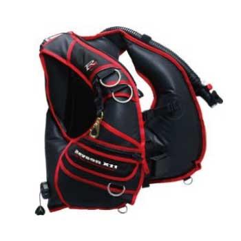 レイソン Reyson X11 BCジャケット・スキューバーダイビング用品 重器材セット画像
