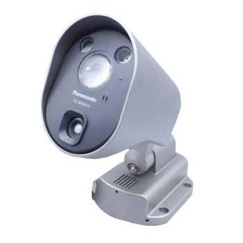 パナソニック VL-WD812 屋外ワイヤレスカメラ 防犯カメラ センサーライト付 画像