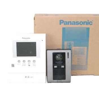 anasonic テレビドアホン VL-MV32KL インターホン 広角カメラ搭載 画像