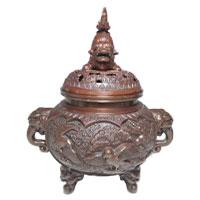 高岡銅器 瑞峯 香炉 画像