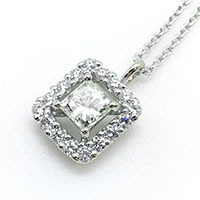 TASAKI タサキ ダイヤモンド ペンダント 0.512ct画像