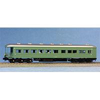 鉄道模型 天賞堂 旧型特急客車シリーズ 57028 特急「はと」青大将 基本4輛セット画像