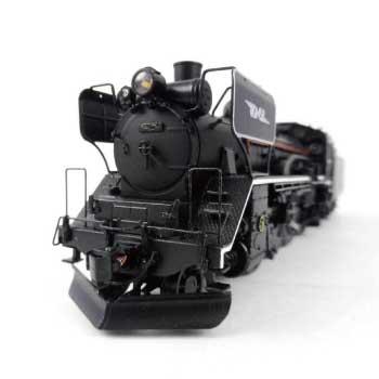 HOゲージ 蒸気機関車 C58形 33号機・後藤工デフ(JNRマーク付) 画像