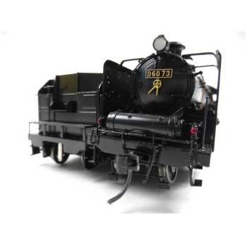 HOゲージ 国鉄 D60形 蒸気機関車 室内灯・ライトなし 画像