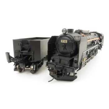 HOゲージ C62形 蒸気機関車 東海道タイプ 画像