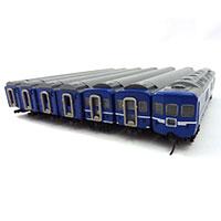 鉄道模型 TOMIX 国鉄 24系25形100番代特急寝台客車セット(銀帯)画像