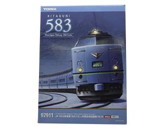 鉄道模型 TOMIX 97911 限定品 JR 583系電車(きたぐに・JR西日本旧塗装)セット画像