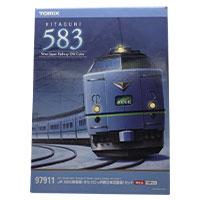 鉄道模型 TOMIX 97911 JR 583系電車(きたぐに・JR西日本旧塗装)セット画像