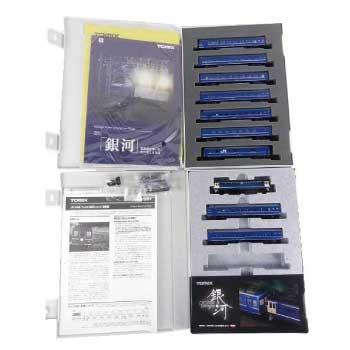 TOMIX Nゲージ JR24系「さよなら銀河」セット 鉄道模型 10両 画像