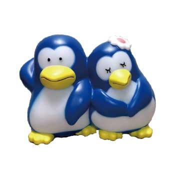 パピプペンギンズ ソフビ製ライト画像