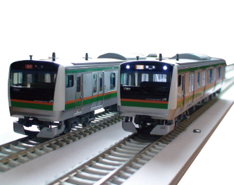 U-TRAINS 16.5ミリゲージ E233系3000番台 東海道線 15連 完成品 美品 画像