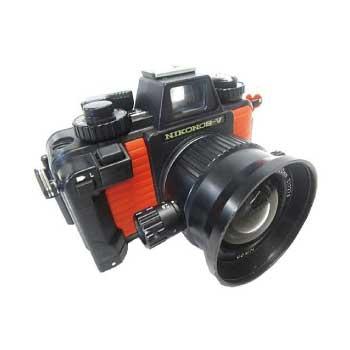 Nikon NIKONOS-V 水中 カメラ 1:2.8 f=20mm ケース付き 画像