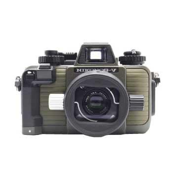 ニコン NIKONOS-Ⅴ NIKKOR 35mm F2.5 モスグリーン フィルムカメラ 画像