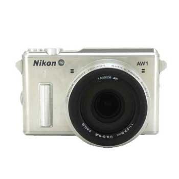 Nikon 1 AW1 ミラーレス 一眼デジタルカメラ 防水ズームレンズキット シルバー 画像
