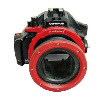 OLYMPUS PT-EP08 ポートレンズ付き 水中カメラハウジング 画像