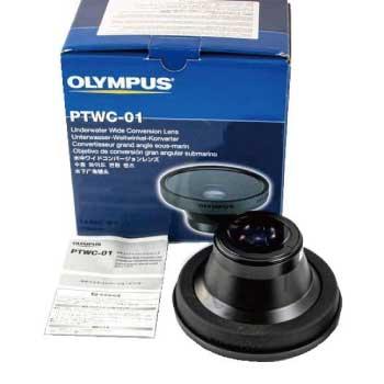 OLYMPUS PTWC-01 水中ワイドコンバージョン カメラ レンズ 0.6× φ67mm 画像