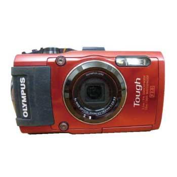 OLYMPUS STYLUS TG-4 レッド 水中カメラ 防水デジタルカメラ 画像