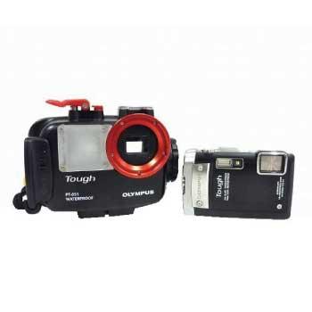 OLYMPUS Tough TG-810 防水 カメラ 水中 ダイビング プロテクター PT-051 付 画像