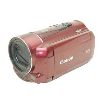 キャノン iVIS HF M51 レッド デジタルビデオカメラ 取説 元箱 付属品付き 画像