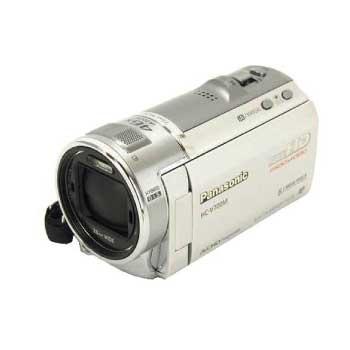 パナソニック HC-V700M デジタル ハイビジョン ビデオカメラ シルバーカラー 画像