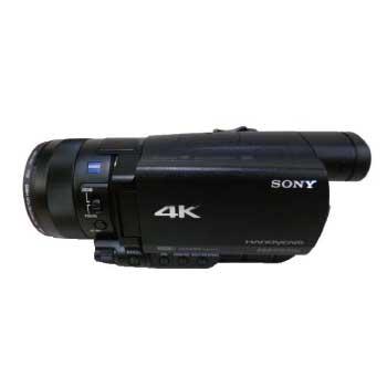 SONY ハンディカム 4K ビデオカメラ FDR-AX100 2017年製 画像