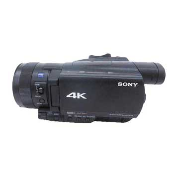 ソニー FDR-AX700 4Kビデオカメラ Handycam 画像
